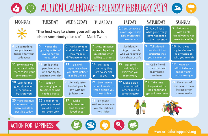 Welcome to Friendly February!